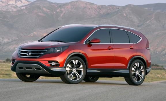 Honda CR-V 2012 primer foto oficial