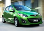 Mazda 2 2012 green official
