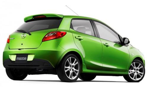 Mazda 2 2012 verde