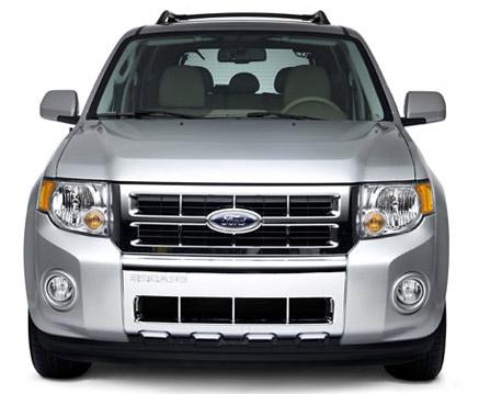 Ford Escape 2012 en Mexico, frente