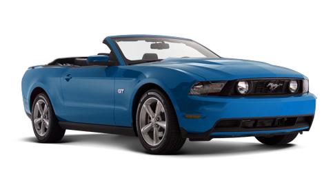 Ford Mustang 2012 ya en México convertible