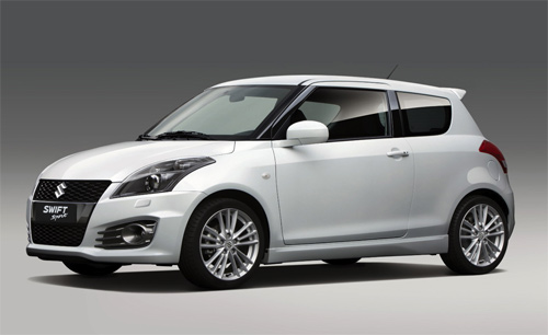 Sizuki Swift Sport blanco