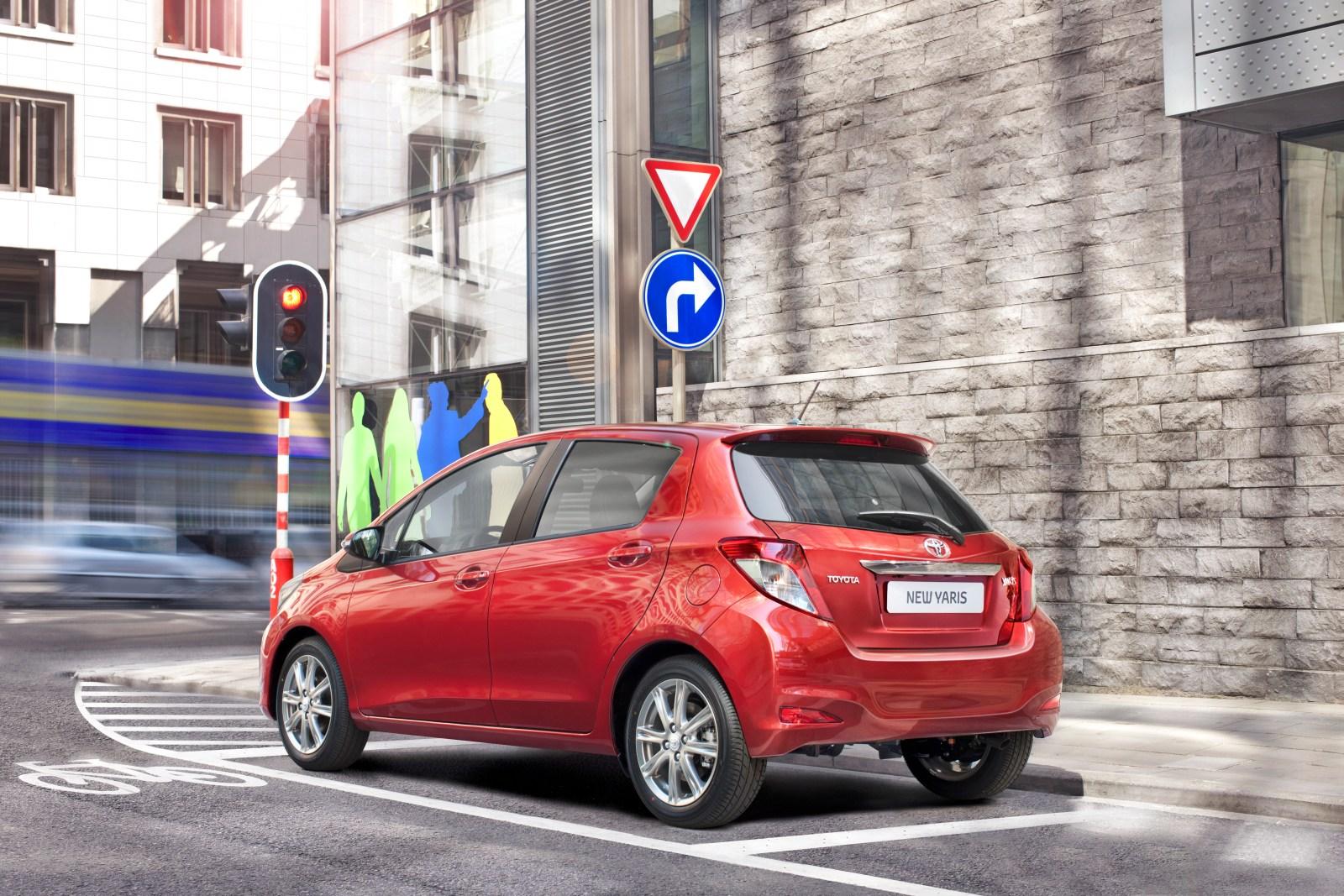 Nuevo Toyota Yaris 2012