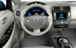 Interior Nissan Leaf