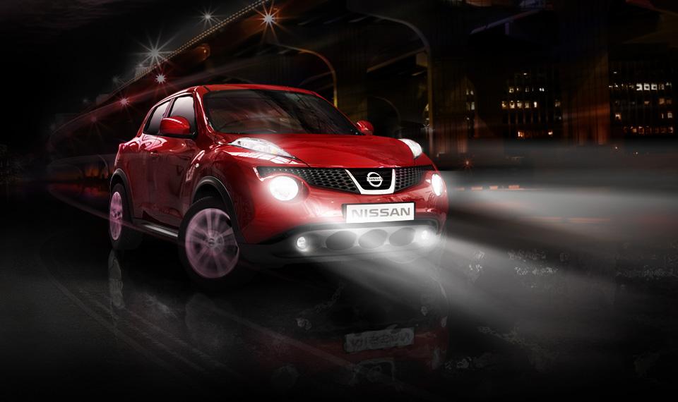 Nissan Juke 2012 en México faros