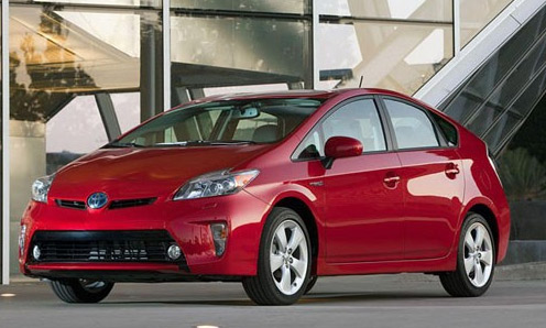 Toyota Prius 2012 foto oficial