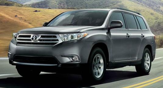 Precios Toyota Highlander 2012