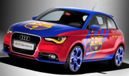 Audi firma convenio con el Barcelona