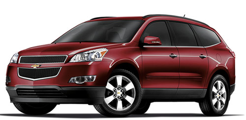 Chevrolet Traverse 2012 ya en México