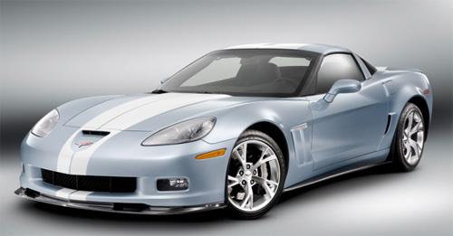 Chevrolet Corvette Carlisle Blue Grand Sport Concept: