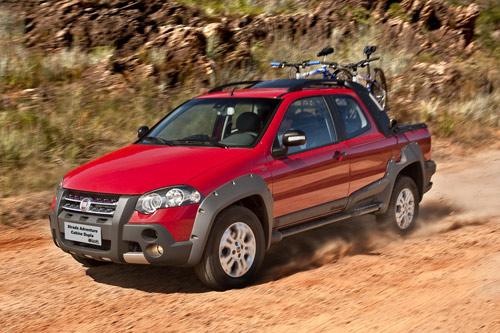 Fiat Strada Adventure nueva