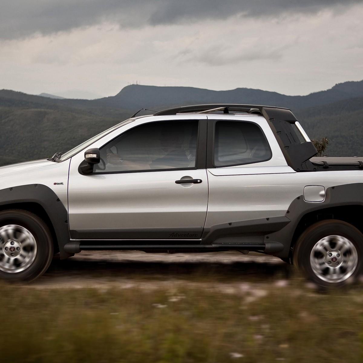 Fiat strada adventure doble cabina y locker autos actual for Fiat idea adventure 2011 precio argentina