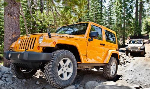 Jeep Wrangler 2012 en México