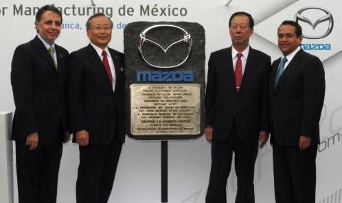 Mazda anuncia planta México