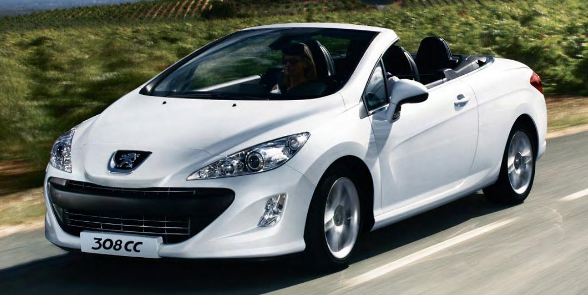 Peugeot 308 CC Facelift 2012 ya en México