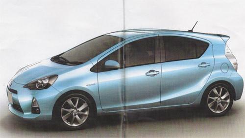 Toyota Prius C filtradas