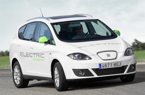 Seat Altea XL Electric Ecomotive eléctrico