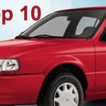 Top 10 de autos más vendidos en México en octubre