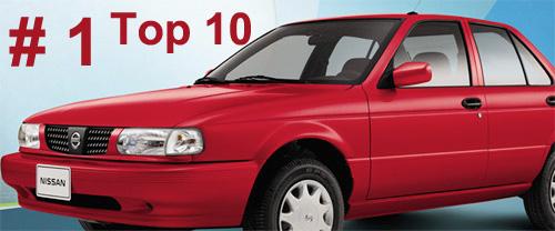 Nissan Tsuru Número uno en ventas