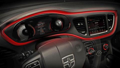 Interior Dodge Dart