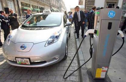 Taxi eléctrico en distrito Fedral