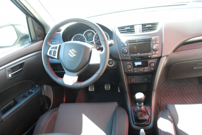 Suzuki Swift Sport en México interior