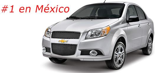 Aveo el más vendido en Top 10 ventas en México enero julio 2012