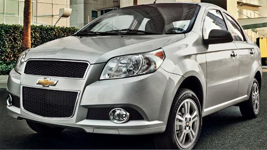 Chevrolet Aveo 2013 ya en México precios y versiones