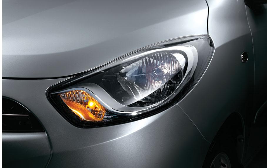 Dodge i10 2013 en México faros