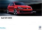 Volkswagen Golf GTI 2013 ya en México