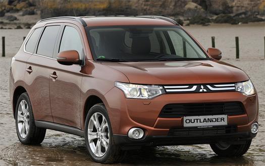 Mitsubishi Outlander 2013 nueva generación