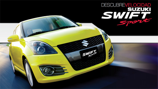 Suzuki Swift Sport 2013 en México