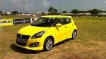 Suzuki Swift Sport 2013 en México, color amarillo