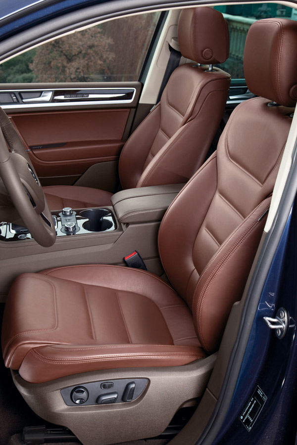 Volkswagen Touareg 2013 Hybrid en México asientos