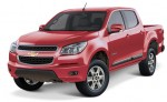Chevrolet Colorado 2013 en México color rojo