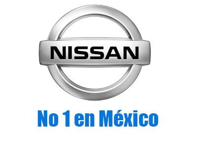 Nissan número 1 en Ventas por marca en México en agosto