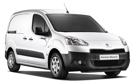 Presentan Peugeot Partner eléctrico 2013