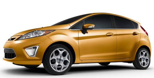 Ford Fiesta modelo 2013 en México