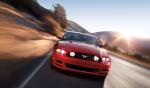 Ford Mustang 2013 en México color rojo