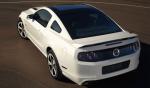Ford Mustang 2013 en México color blanco