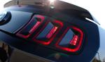 Ford Mustang 2013 en México faros traseros