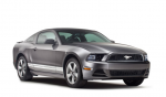 Ford Mustang 2013 en México Gris de lado