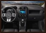 Jeep Patriot 2013 ya en México interior, tablero, pantalla touch a color