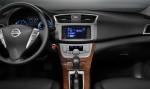 Nuevo Nissan Sentra 2013 para México interior, pantalla a color