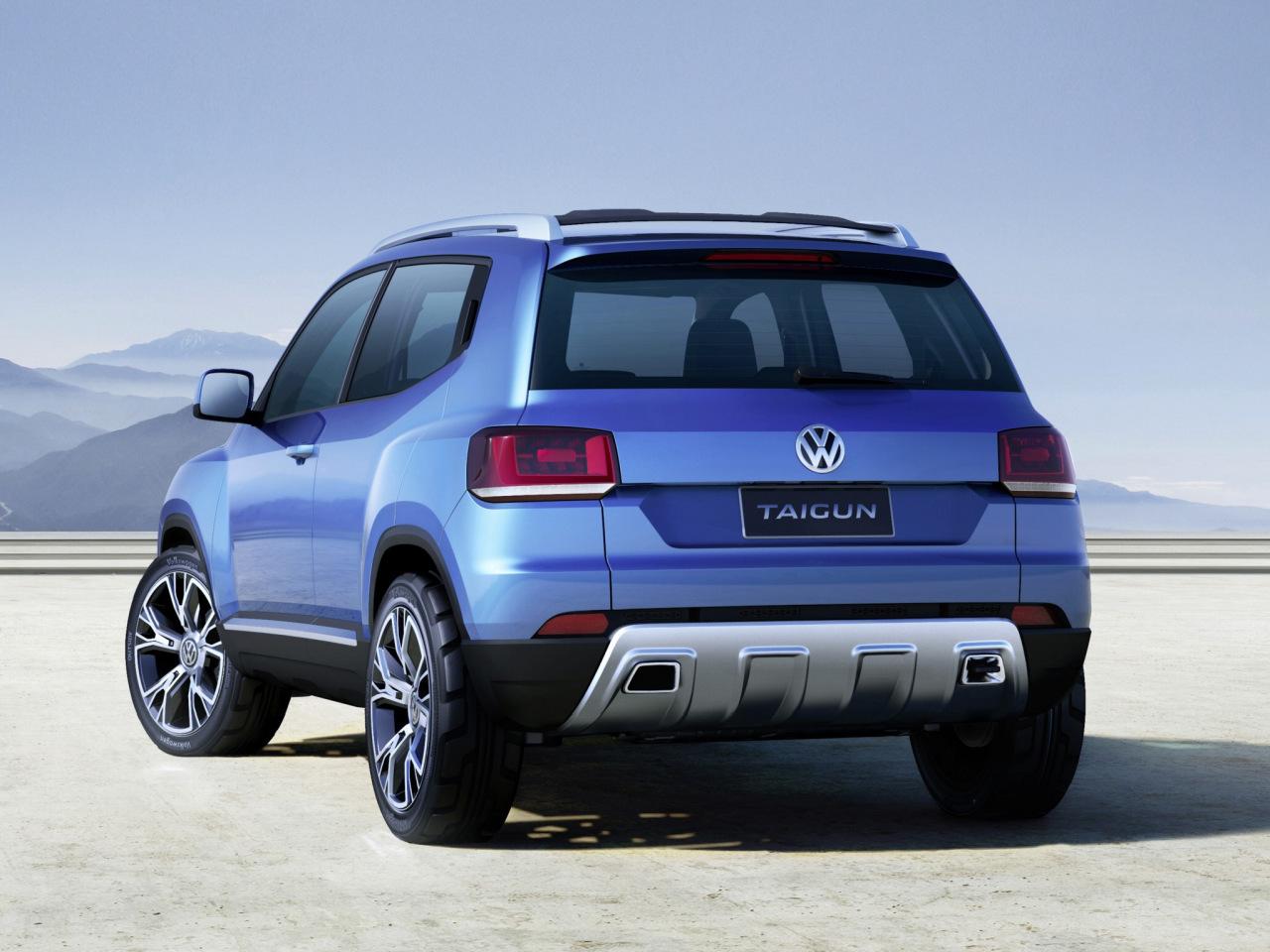 Volkswagen Taigun Concept un SUV pequeño