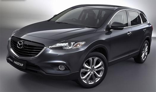 Mazda CX-9 2013 nuevo diseño en México