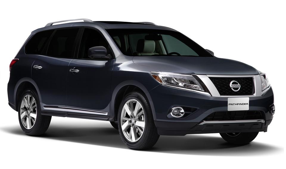 Nissan Pathfinder 2013 en México exterior azul
