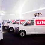 Recibe Estafeta nuevas unidades Volkswagen Transporter 2013 en México