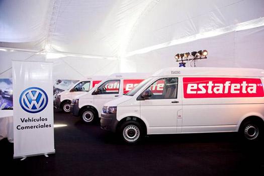 Estafeta con nuevas unidades Volkswagen Transporter 2013
