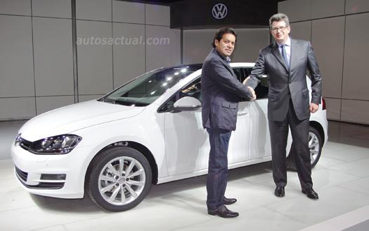 Volkswagen Golf VII hecha en México